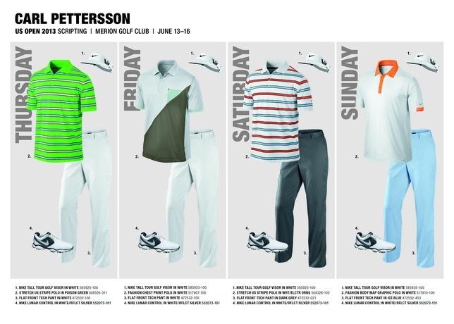 Carl Pettersson Golf Shoes