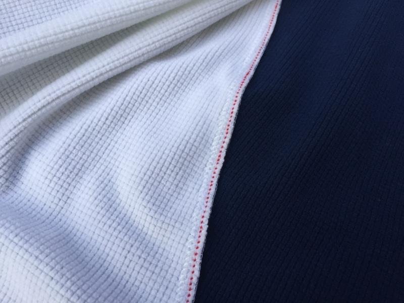 Waffle-like texture of the Insula fabric.